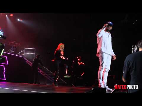 Chris Brown she Ain't You Live At Megaton Mundial 2013 video