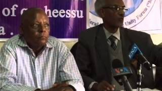 VOA Amharic-Opposition Party Medrek Speaks about The Election Process