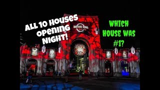 HHN - All Houses Reviewed | Halloween Horror Nights 2018