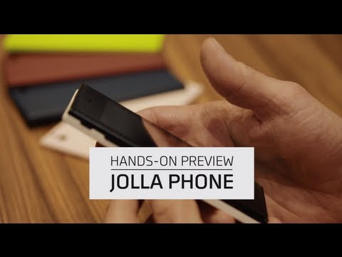 Jolla Launches First Sailfish OS Smartphone - Hands-On Demo