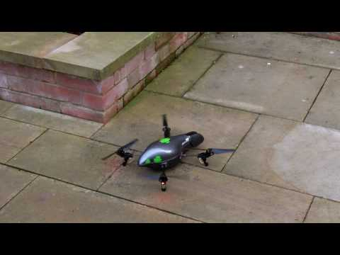 Augmented reality flying robot remote controlled by Android or iPhone