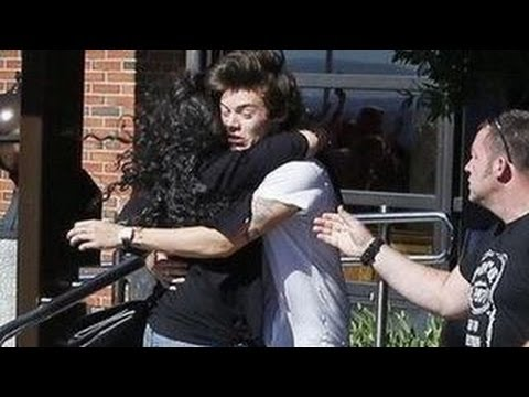 One Direction Mobbed By Crazy Fans -- Compilation