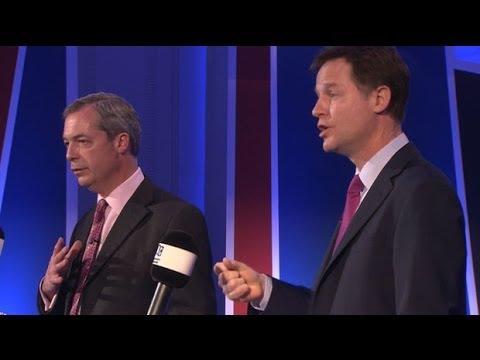 Nigel Farage v Nick Clegg: what we learnt