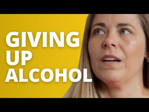 Sarah's story - Giving up alcohol