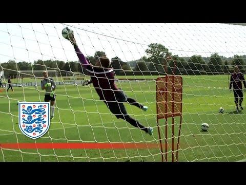 Joe Hart, Rob Green & Tom Heaton agility training | Inside Training
