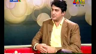 Zahidur Rahman Biplob @ LIVE INTERVIEW on ATN Bangla, 27 01 14
