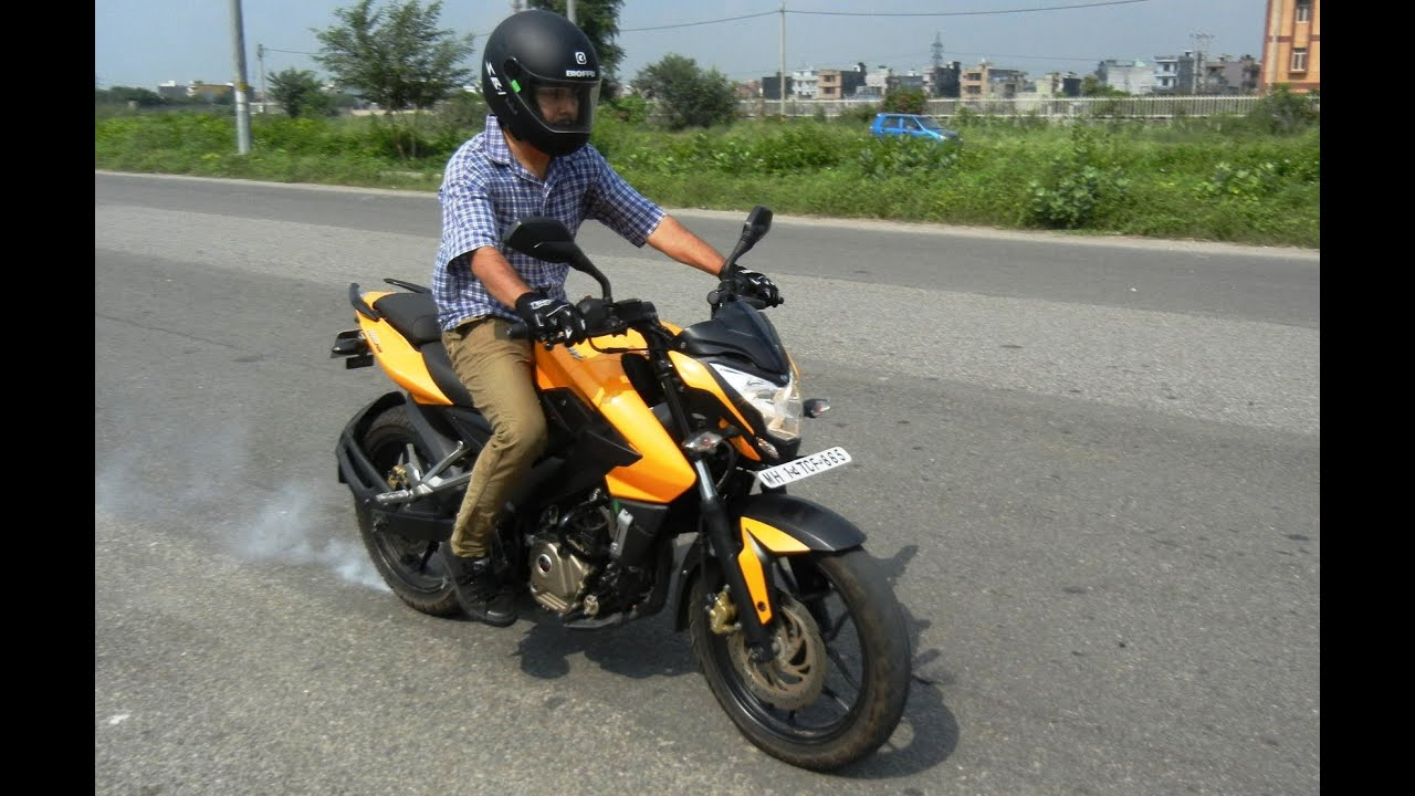 Bajaj pulsar 200 ns road test and detailed review youtube