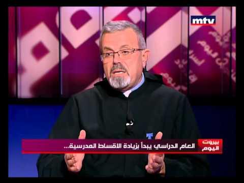 Beirut El Yaoum - Father Boutros Azar - 28/10/2015
