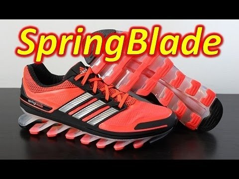 Adidas SpringBlade Infrared - Unboxing + On Feet