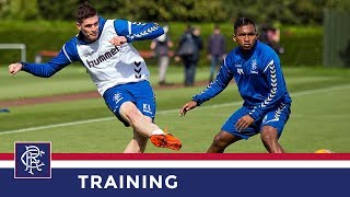 TRAINING | Lafferty Joins Squad | 22 Aug 2018