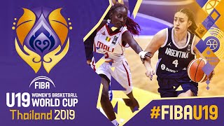 Mali v Argentina - Full Game - FIBA U19 Women's Basketball World Cup 2019