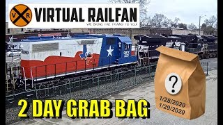 Virtual Railfan 2 day Grab Bag!  January 28/29, 2020.