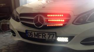 siren ve çakar led mercedes