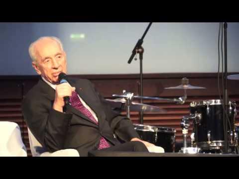 Discours de Shimon Peres : soirée du Keren Hayessod France - Paris 16.12.14