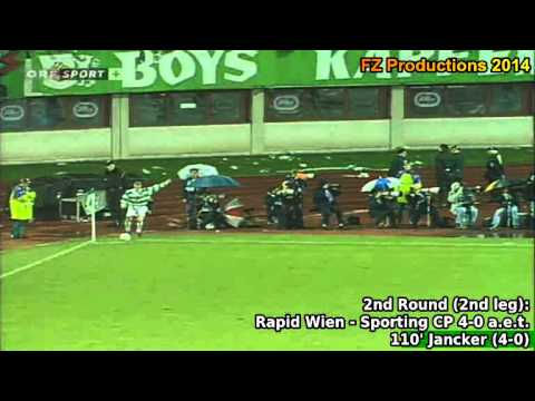 All the goals scored by SK Rapid Wien, runner-up of the 1995/96 UEFA Cup Winners' Cup. Rapid Wien reached the final overcoming Petrolul Ploie�ti, Sporting CP, Dynamo Moscow and Feyenoord,...