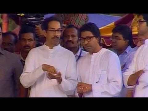 Bal Thackeray cremated; Uddhav, Raj perform final rites - NewsX