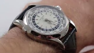 Patek Philippe Complications World Time 5110G-001 Luxury Watch Review