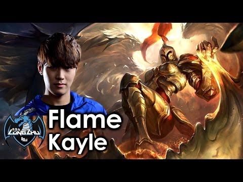 Flame picks Kayle