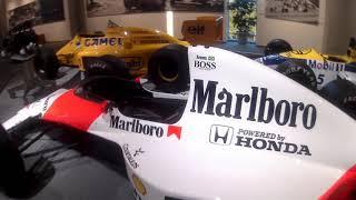POV   AYRTON SENNA F1 1990 McLaren Honda MP4/5B V10 RA100E   Honda Collection Hall
