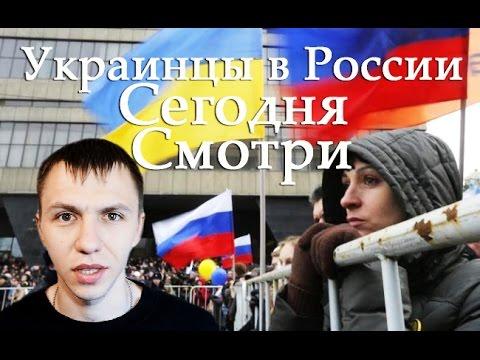 Украинцы в России  Смотри как великие Украинцы ведут себя в России