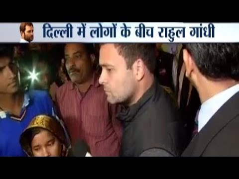 Note Ban: Rahul Gandhi Meets People Lined-up outside ATM in Delhi