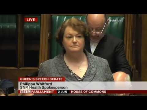 phlippa whitford snp maiden speech