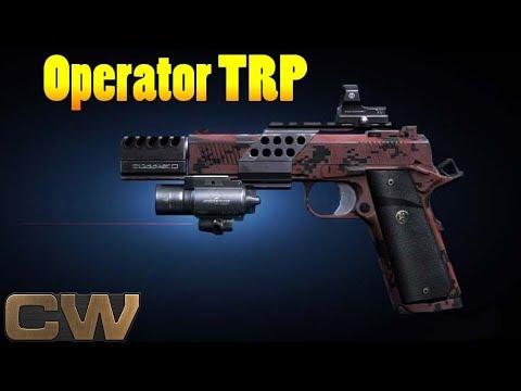 Contract Wars - обзор Operator TRP full custom