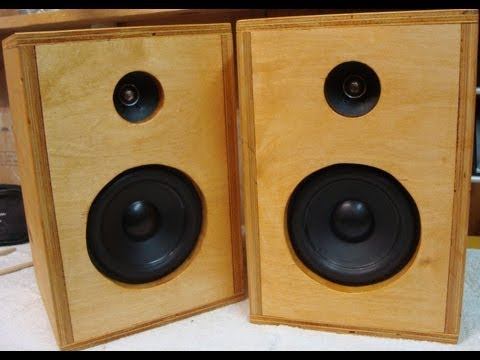 DIY How To Make Homemade Speakers ♪