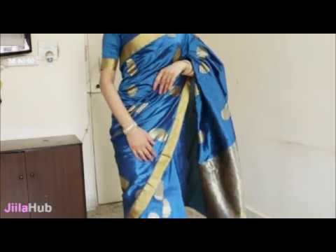 How To Wear South Indian Saree/2 States South Sari Wearing Tutorial