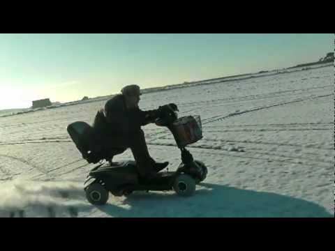 70MPH Mobility Scooter in the SNOW Music Videos