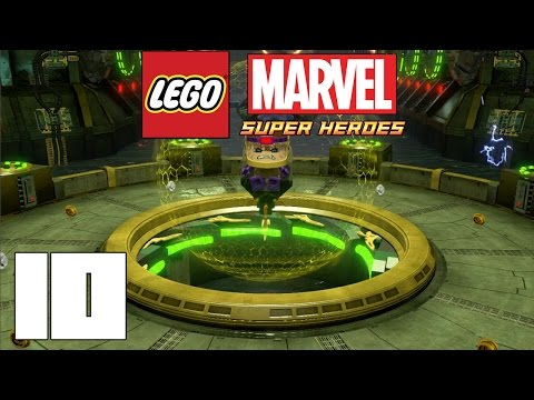 LEGO Marvel Super Heroes! Capitulo 10!