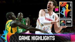 Basketball - Mondial Espagne 2014 | Senegal 56-89 Espagne