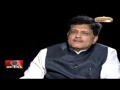 Piyush Goyal in 'The Quest'