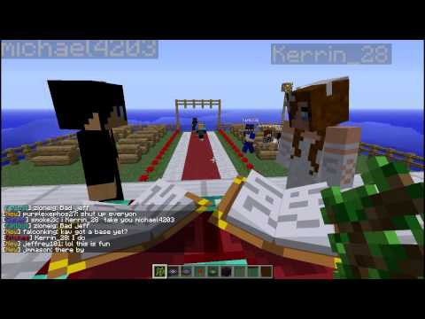 Epic minecraft Wedding