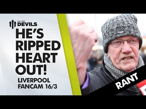 HE'S RIPPED OUR HEART OUT! | Manchester United 0-3 Liverpool | FAN RANT