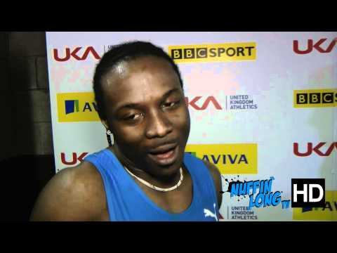 Nuffin'Long TV (Aviva Indoor GP Birmingham) - Post Race Interview with Lerone Clarke (HD)