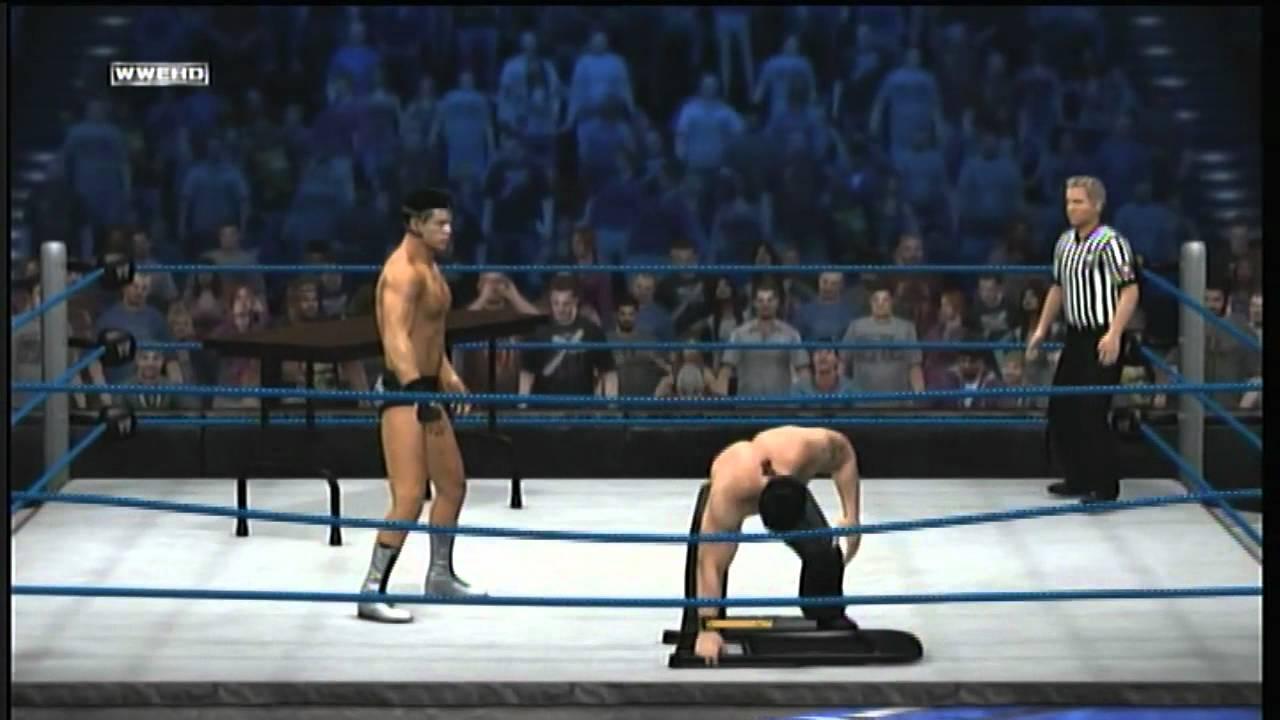 WWE  12 Zak Bagans vs Cody Zak Bagans Shirtless