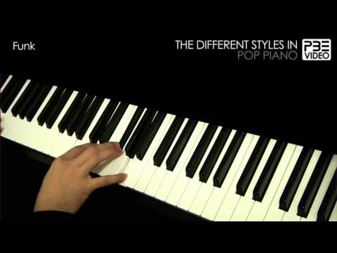 The different styles in Pop Piano Music Videos