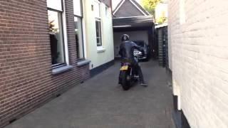 Moto Guzzi 1000sp open muffler sound