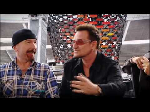 U2 interview with Rove McManus on The 7pm Project - Australian Tour/Jay Z announcement