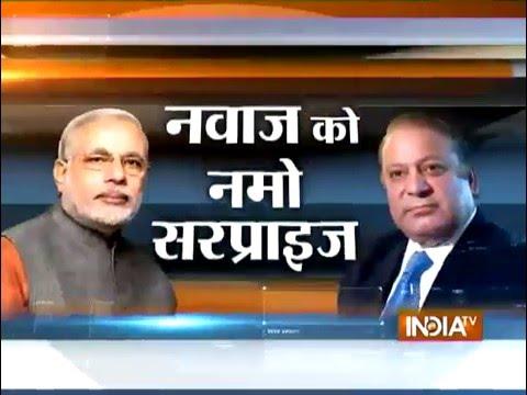 PM Modi's Surprise Visit to Lahore, Meets Nawaz Sharif On His Birthday