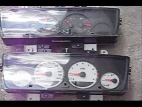 Replacing Instrument Cluster on Dodge Neon part 1