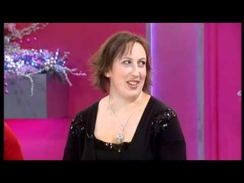 Miranda Hart on Loose Women - 9th December 2010