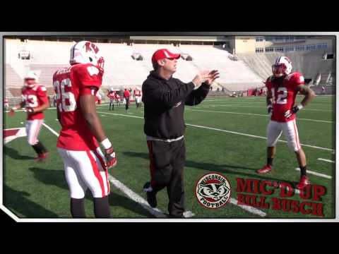 Wisconsin Football Mic'd Up: Bill Busch