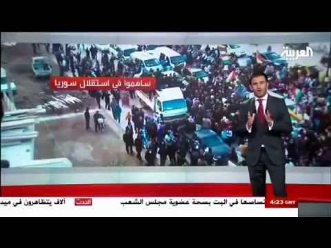 Western Kurdistan (Syrian Kurdistan) - Al Arabiya TV 2012