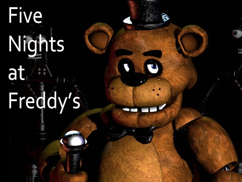 Five Nights At Freddy's Nights 1 and 2 a Breeze