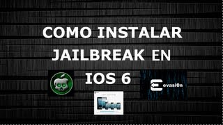 como instalar jailbreak iOS6 en tu ipod iphone o ipad+LINK de descarga