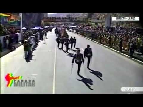Parada militar - Bolivia 2014 aniversario de las FF. AA Parte3