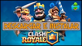 Como Descargar Clash Royale Para BlueStacks | PC | 2016