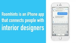 You can get personalized advice from an interior designer with this iPhone app
